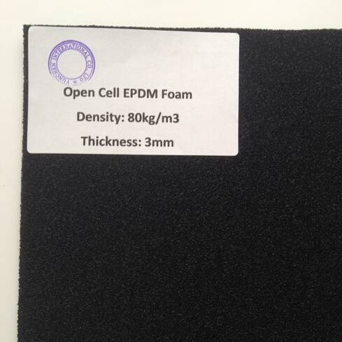 EPDM Rubber Foam for Gasket or The Sealing