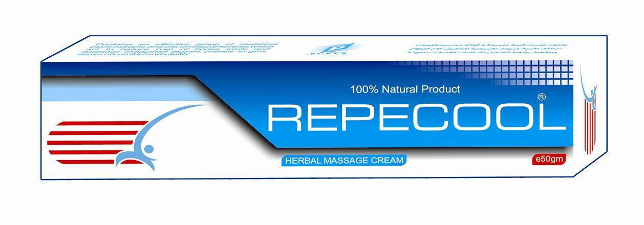 REPECOOL massage cream