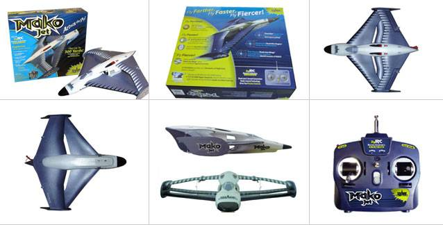 Airplane model(Mako Jet)