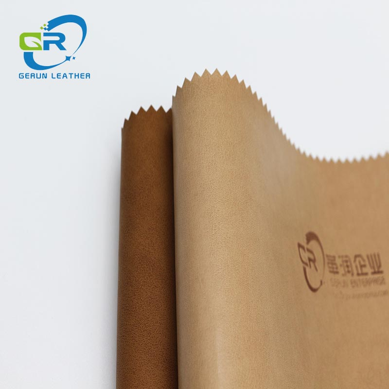 GR 17027 durable shoe synthetic leather