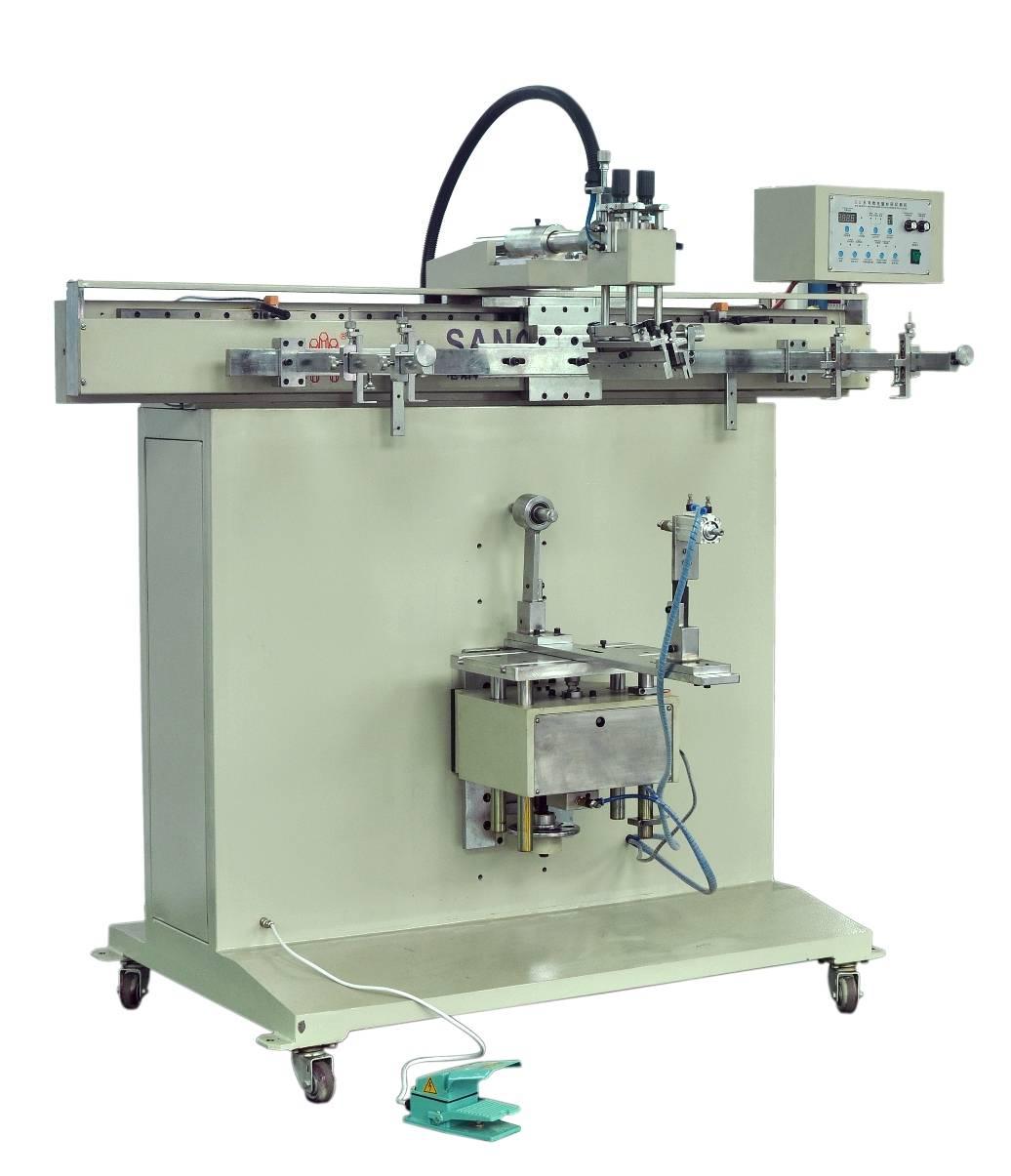 Pneumatic Cylindrical Screen Printing Machine
