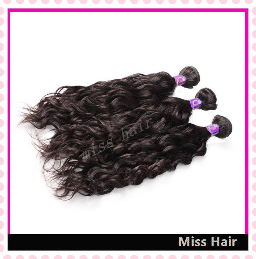 Natural Wave Human Hair Weft