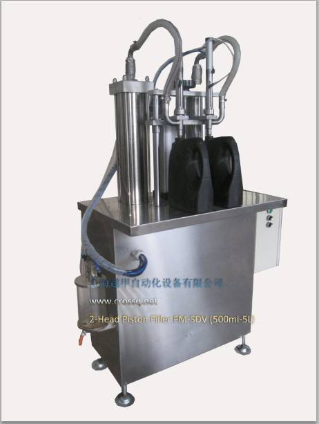 Semi-auto Volume Type Filling Machine for Liquid FM-SDV