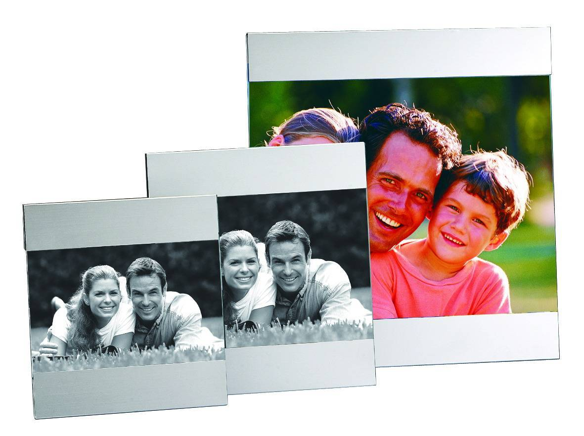 Metal Photo Frame, OEM Orders are Welcome, Made of Aluminum Material