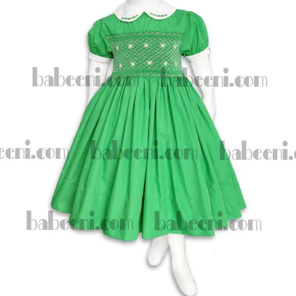 Luxury traditional smocked dress