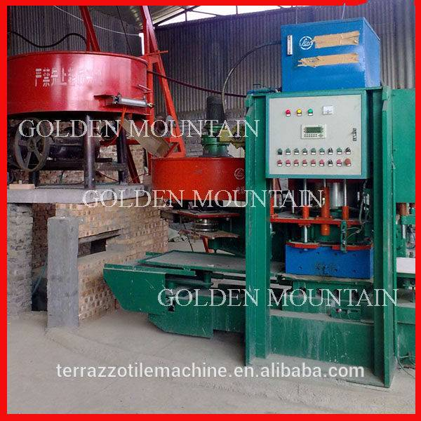 The best quality JS - SD - 600 double terrazzo tile making machine