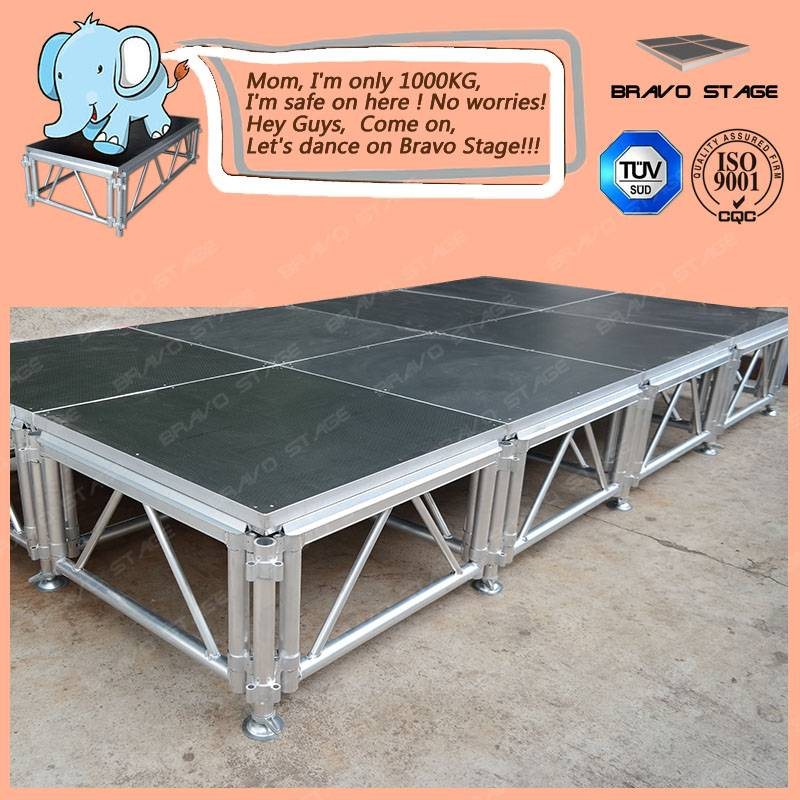 Hot Sale Mobile Stage Light Stage Used Portable Stages Folding Stage