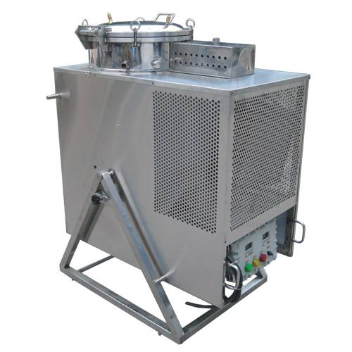 Stainless steel cold recycling machine