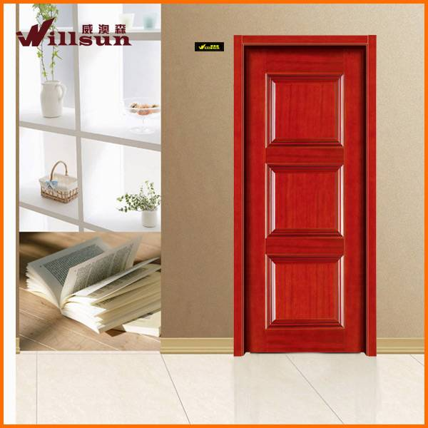 wood room door design