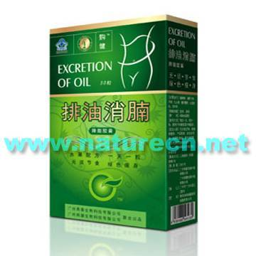 Excretion of Oil Slimming Capsule