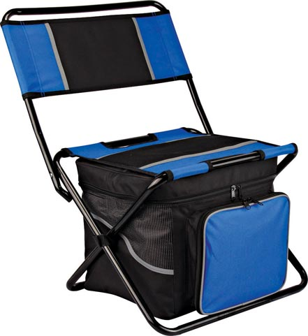 Cooler bag with chair