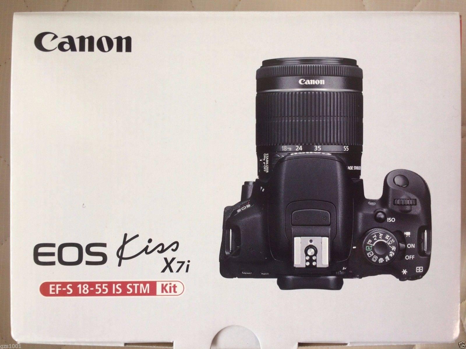 Canon EOS Kiss x7i Rebel
