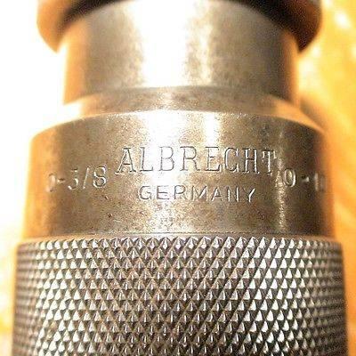 Albrecht machinist drill chuck
