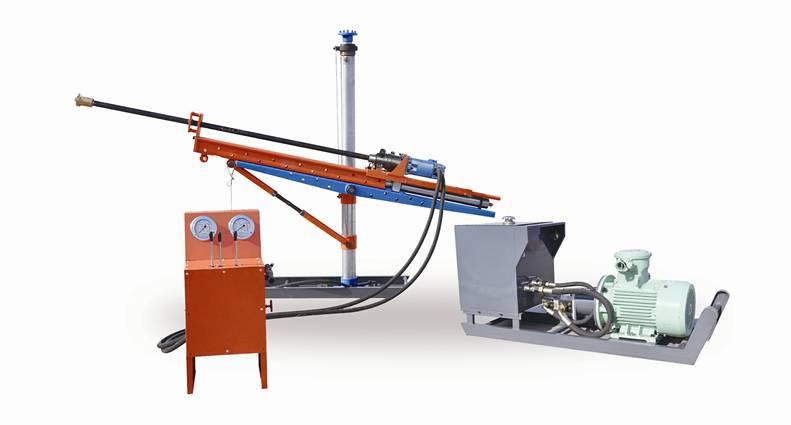ZYJ-400/130 Fully hydraulic Column Drilling Rig for underground coal mine