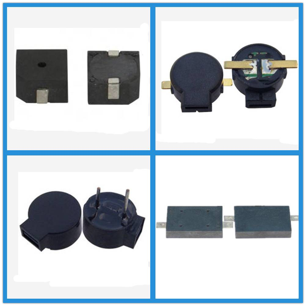 SMD Magnetic Buzzer Acoustic Components For Digital Camera / Alarm Products