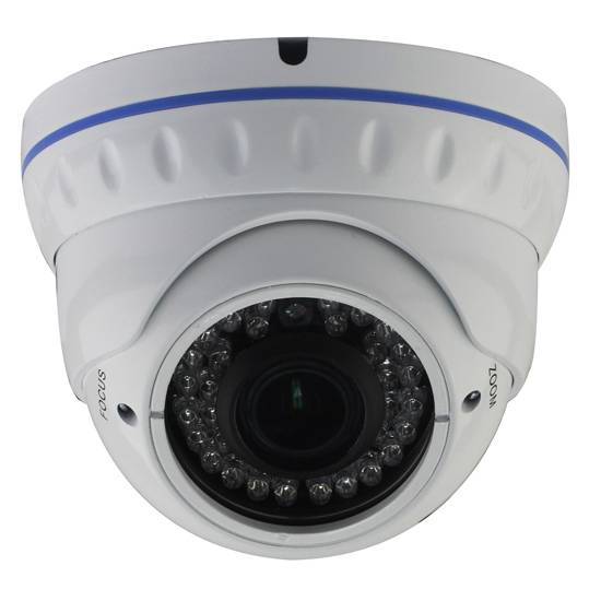 Day and Night Vision 2 Megapixel Zoom lens IP dome camera
