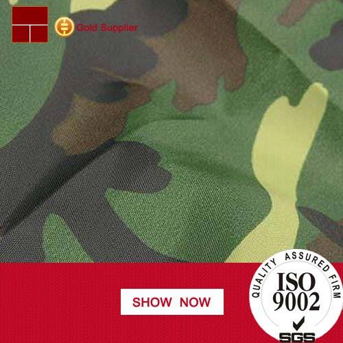 Hot sale 100% cotton printed textile camouflage fabric china wholesale