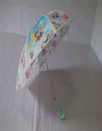 YS-0033PVC Disney Kids Umbrella