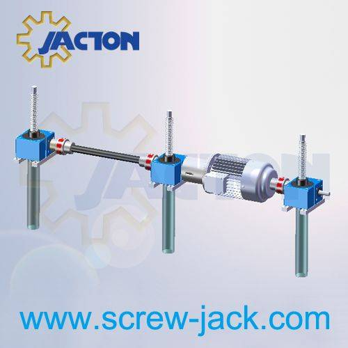 spindle lifting gear units modular system