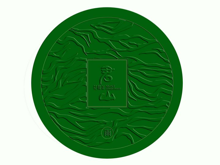 Customized smc round manhole cover with CE
