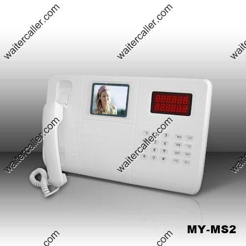 1-Way Video Intercom System - Unify MY-MS2 Color Video Master Station