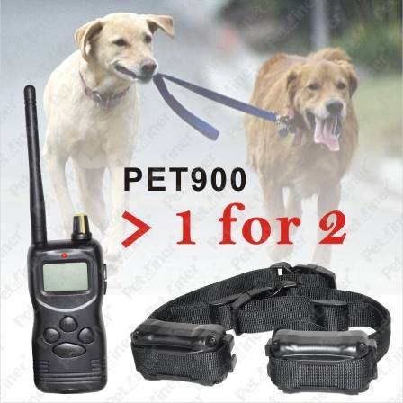 Multi-Dog Training System with Big LCD Display