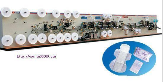 Multiple-Function Machine For Sanitary Napkin