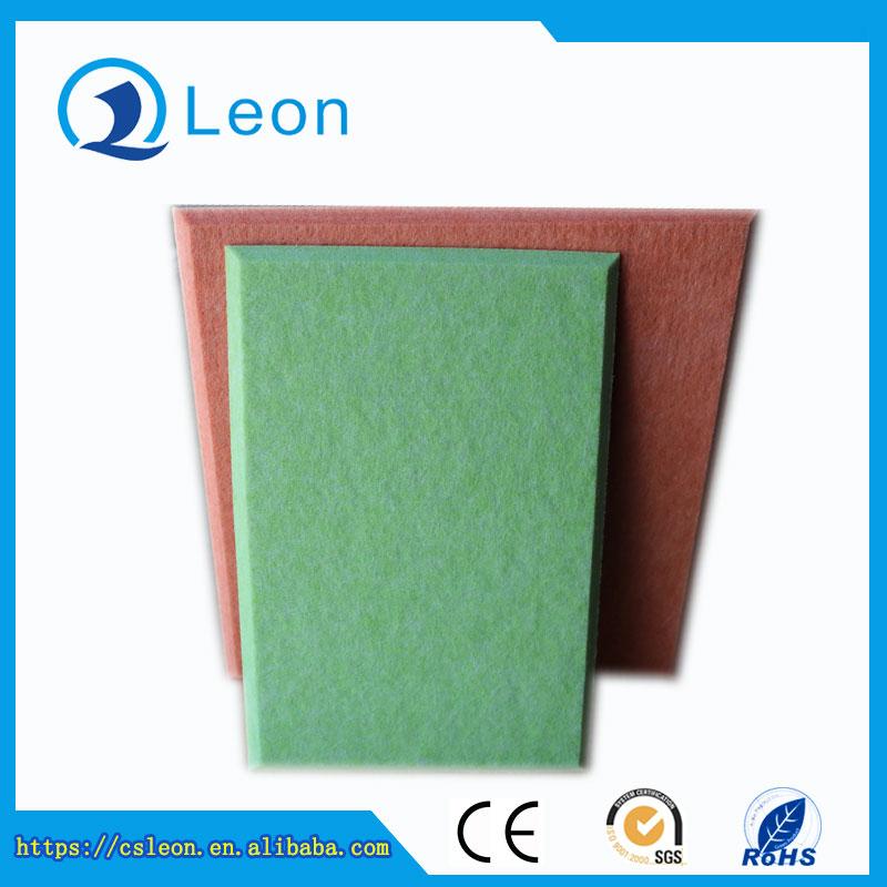 Polyester fiber acoustic panel