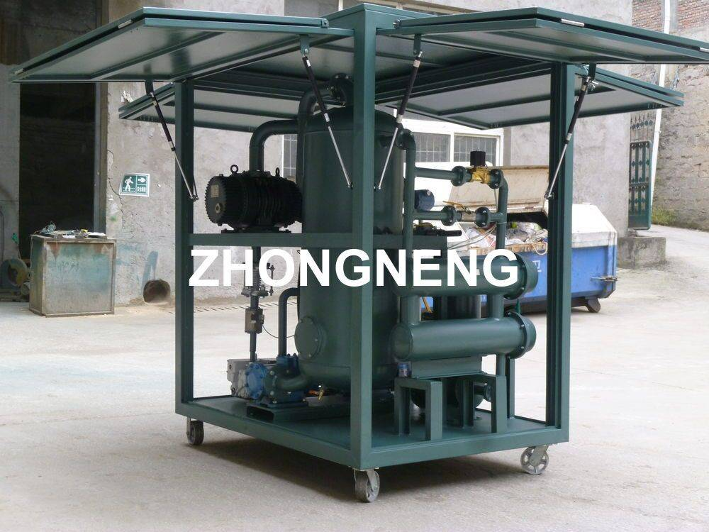 Series ZYD-10 Transformer Oil Filter Machine, Insulating Oil Purification Plant for Power