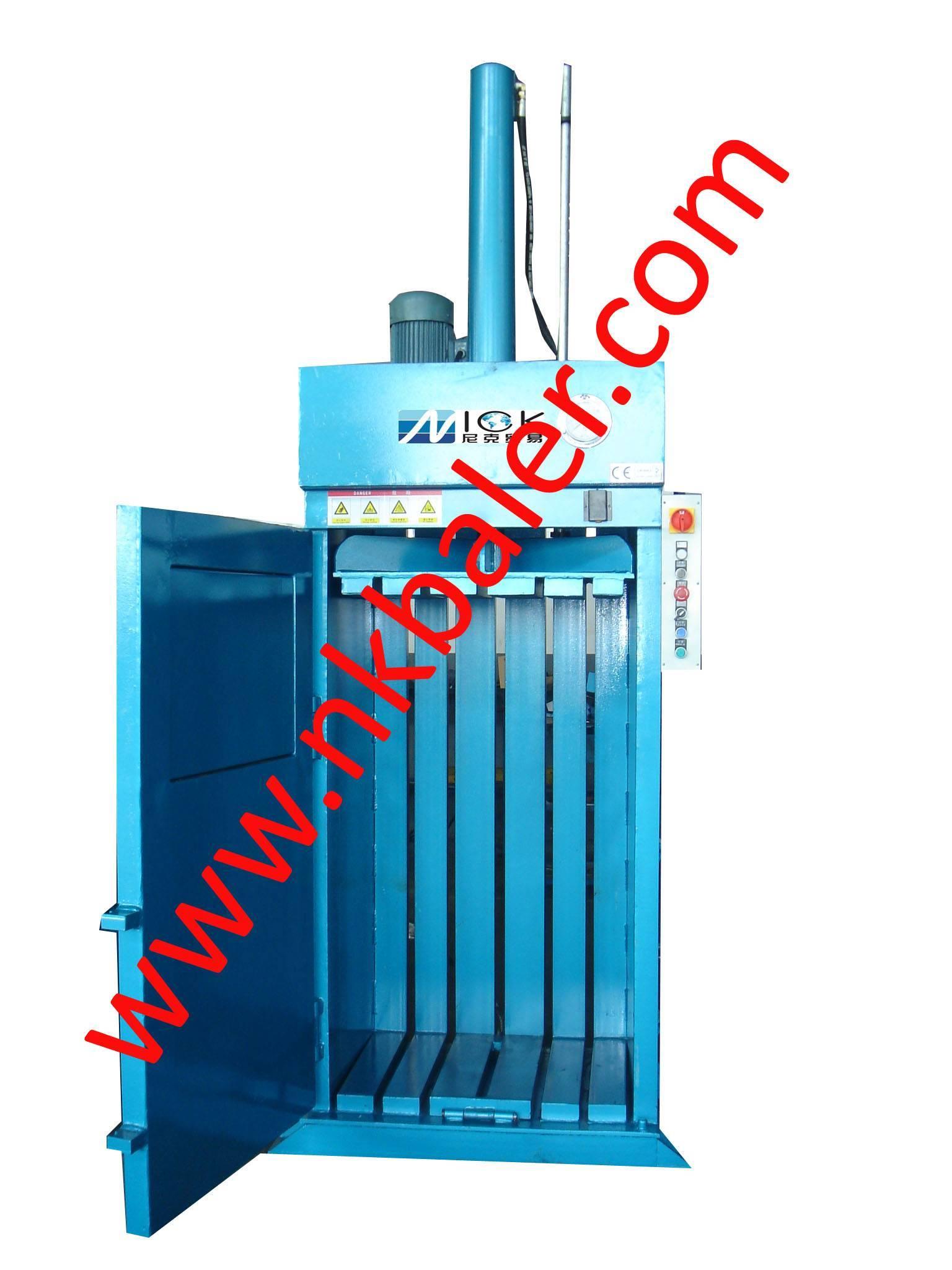 Scrap Plastic Baling Machine