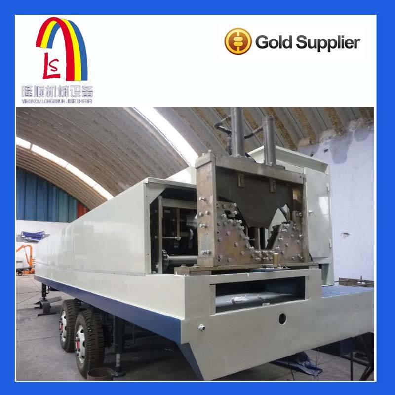 Colored Steel Sheet Roll Forming arch span cold roll forming machine