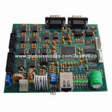 Circuit Board Assembly for Industrial Control with Programmed MCU