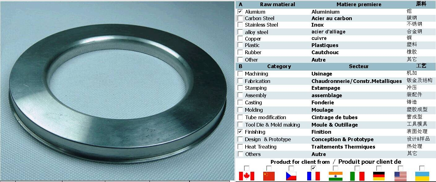 sinofrance Design customized stainless steel sheet metal stamping parts structure