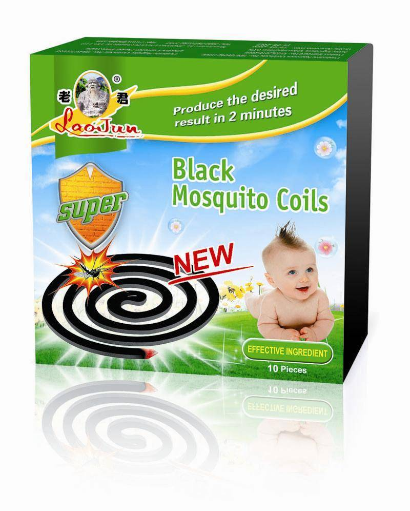 Smokeless pest control for baby