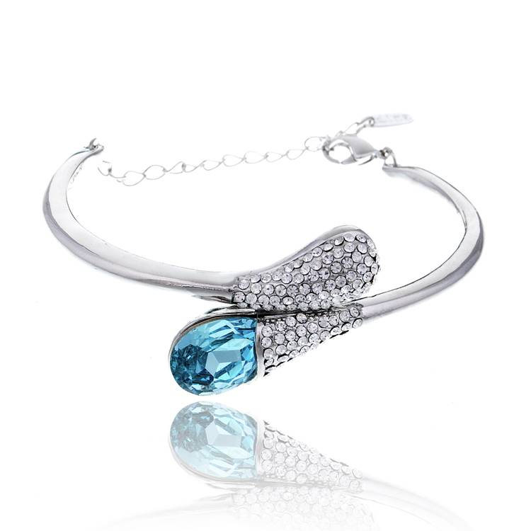 Fashion Crystal Bangles Jewellery Supplier in China