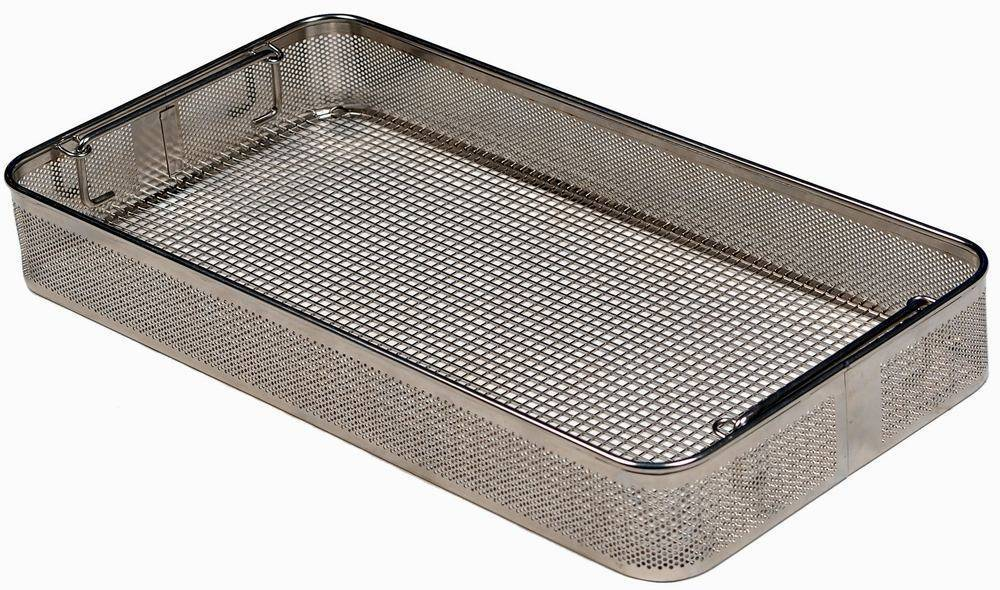 SPRI/ DIN/ ISO Perforrated/ full-wire Instrument Tray for Infection Control, Washer, Flusher, Bedpan