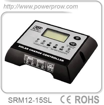 PWM Digital 12v 15a solar controller solar charge controller SRM12-15SL solar controller solar cha