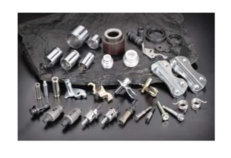 Assembled component of automobile