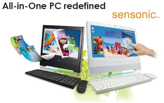 ALL-IN-ONE AIO Touch Screen Sensonic Monitor/Terminal