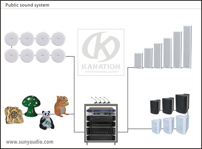 Public sound system
