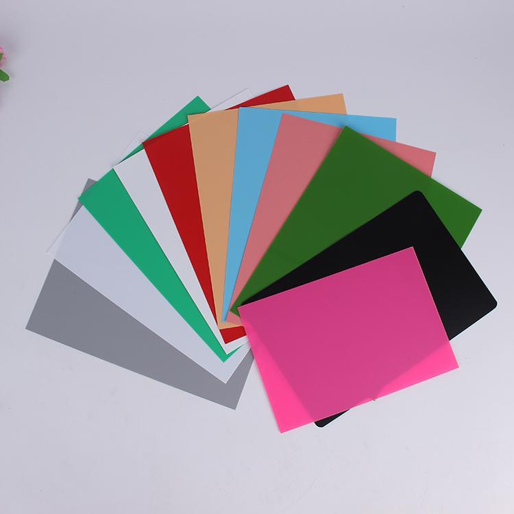 color glossy polypropylene sheet PP roll