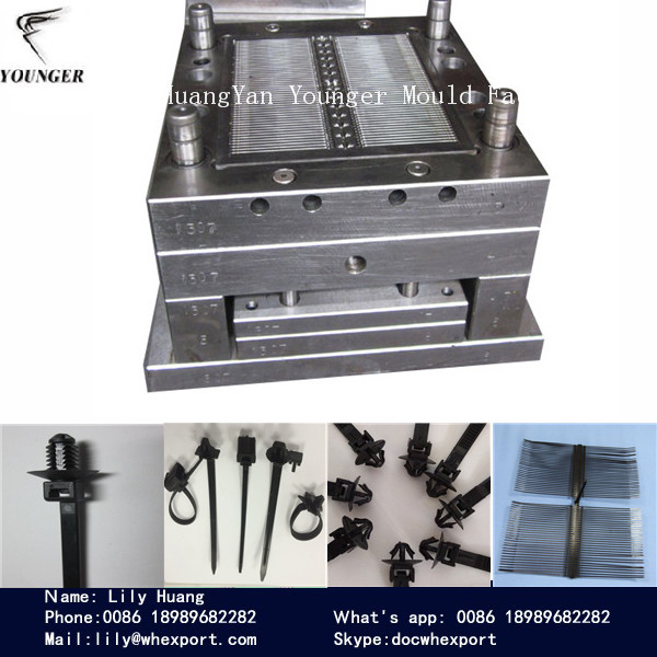 injection mould for automotive cable ties