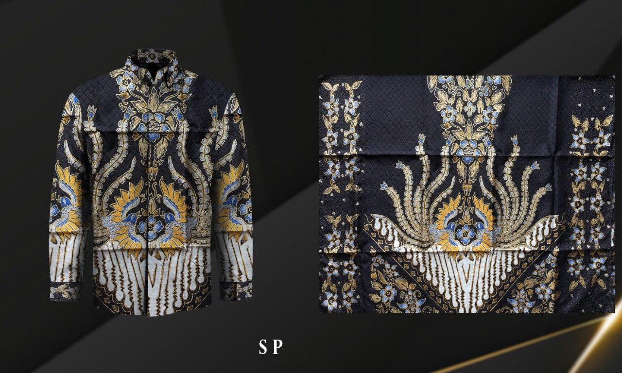 Handmade Prada Silk Batik Fabrics, Style 22