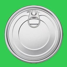 401# eoe easy open end aluminum can lid