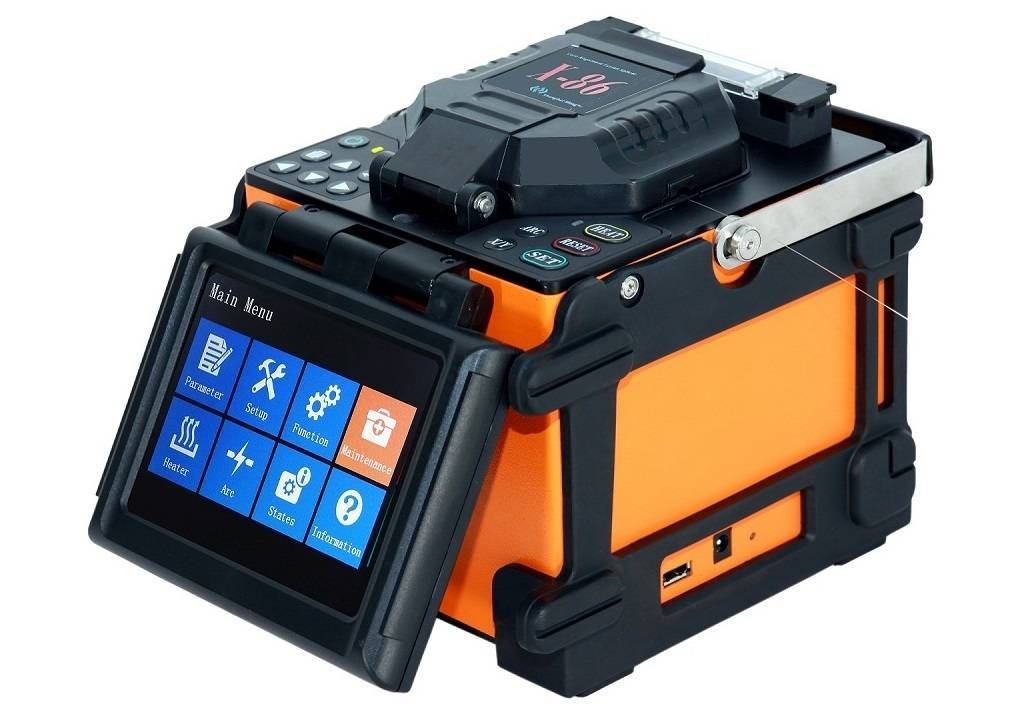 Single Fiber Fusion Splicer X-86