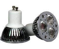 produce high quality LED spotlights 3W 3LED GU10 MR16