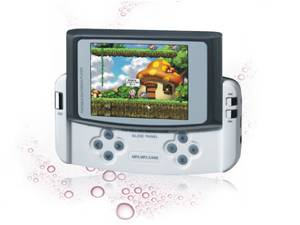 High-quality MP4 player with large screen,digital camera,TV-OUT and super game function