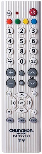 RM-399C 3 in 1 Universal TV remote control