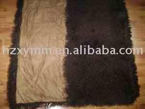 mongolian and tibet lamb fur product