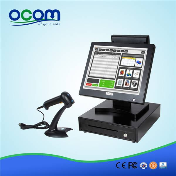 15 inch touch screen all in one POS machine (POS8815A)